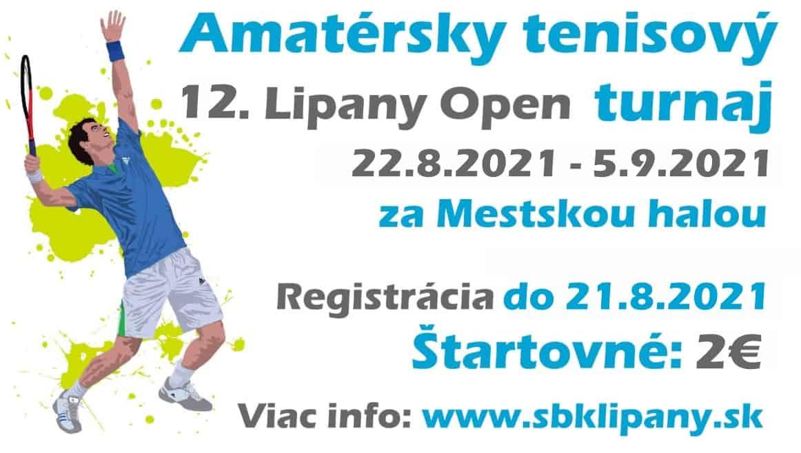 Tenisovy turnaj 12 Lipany